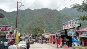 Mercato della montagna Fotografia Stock