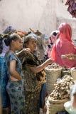 Mercato della spezia, Etiopia Fotografia Stock