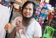Mercato della strada di Khao San Immagine Stock Libera da Diritti