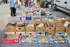 Mercato delle pulci Fotografie Stock Libere da Diritti