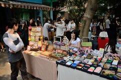 Mercato delle pulci cinese in Canton immagini stock