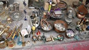 Mercato delle pulci del ` s di Giaffa video d archivio