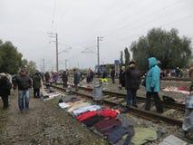 Mercato delle pulci di Kiev Fotografia Stock Libera da Diritti