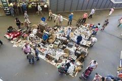 Mercato delle pulci, Els Encants Vells, Barcellona Fotografie Stock Libere da Diritti
