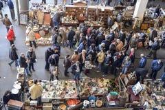 Mercato delle pulci, Els Encants Vells, Barcellona Fotografia Stock