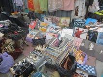 Mercato delle pulci a Kiev immagine stock