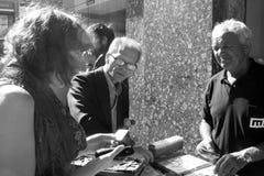 Mercato delle pulci a Oporto, Portogallo Immagini Stock Libere da Diritti