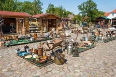 Mercato delle pulci, Ruegenhof a Kap Arkona Fotografia Stock Libera da Diritti