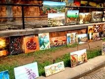 Mercato delle pulci Tbilisi, Georgia Immagini Stock