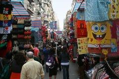 Mercato delle signore - un mercato di strada in Hong Kong Immagine Stock