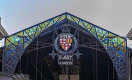 Mercato di Boqueria della La a Barcellona, Spagna Immagine Stock
