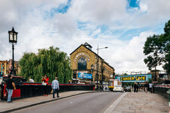 Mercato di Camden Town Fotografia Stock
