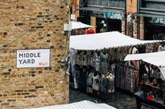 Mercato di Camden Town Fotografia Stock Libera da Diritti