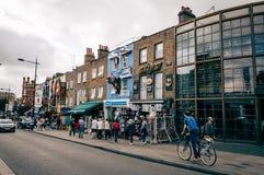 Mercato di Camden Town Immagine Stock Libera da Diritti