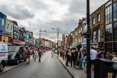 Mercato di Camden Town Fotografie Stock