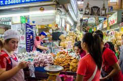 Mercato di CHIANG MAI Fotografie Stock