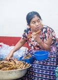 Mercato di Chichicastenango Fotografie Stock