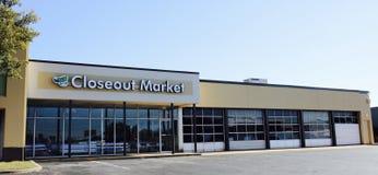Mercato di Closeout, Memphis, TN fotografia stock
