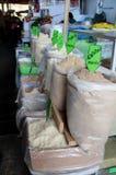 Mercato di Cuzco Immagini Stock