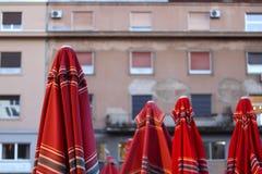 Mercato di Dolac, Zagabria fotografie stock