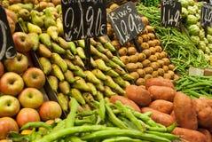 Mercato di Eco Fotografia Stock