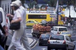 MERCATO DI EUROPA PORTOGALLO MADERA FUNCHAL Immagine Stock Libera da Diritti