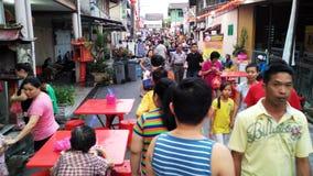 Mercato di eventi di festival all'aperto con la gente immagini stock