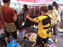 Mercato di fine settimana di Chatuchak Immagine Stock Libera da Diritti