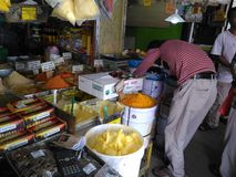 Mercato di fine settimana di Chatuchak Fotografie Stock Libere da Diritti