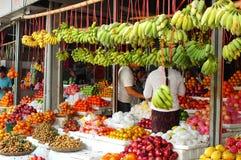 Mercato di frutta Fotografie Stock Libere da Diritti