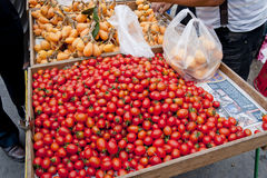 Mercato di frutta fotografie stock
