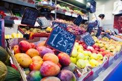 Mercato di frutta Fotografia Stock Libera da Diritti