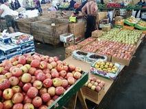 Mercato di frutta Immagine Stock Libera da Diritti