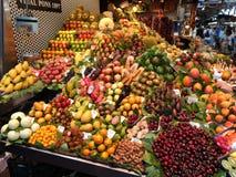 Mercato di frutta Immagine Stock