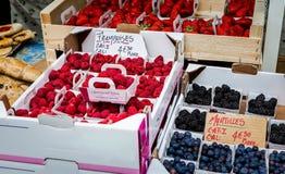 Mercato di frutta della foresta Fotografia Stock Libera da Diritti