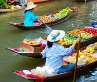 Mercato di frutta famoso Immagini Stock Libere da Diritti