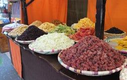 Mercato di frutta secca fotografia stock libera da diritti