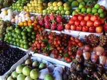 Mercato di frutta Vietnam Fotografie Stock