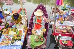 Mercato di galleggiamento Fotografia Stock