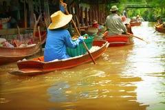 Mercato di galleggiamento Fotografia Stock Libera da Diritti