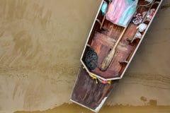 Mercato di galleggiamento di Amphawa Fotografia Stock Libera da Diritti