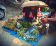 Mercato di IMA a imphal Manipur India Fotografia Stock