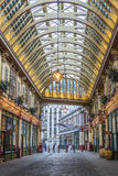 Mercato di Leadenhall, Londra, Regno Unito immagine stock
