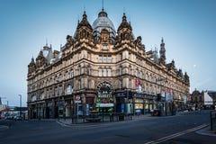 Mercato di Leeds Kirkgate Fotografia Stock