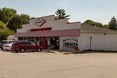 Mercato di Lincoln Highway Turkey Hill Minit fotografia stock libera da diritti