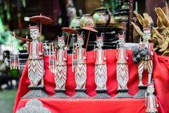 Mercato di Mani-Sithu Nyaung U, nel Myanmar & x28; Burma& x29; fotografie stock