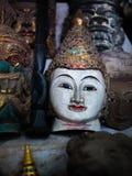 Mercato di Mani-Sithu Nyaung U, nel Myanmar & x28; Burma& x29; fotografia stock libera da diritti
