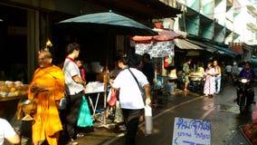 Mercato di mattina di Bangkok Fotografia Stock Libera da Diritti