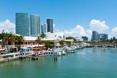 Mercato di Miami Bayside immagini stock
