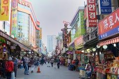 Mercato di Namdaemun in Corea del Sud fotografia stock libera da diritti